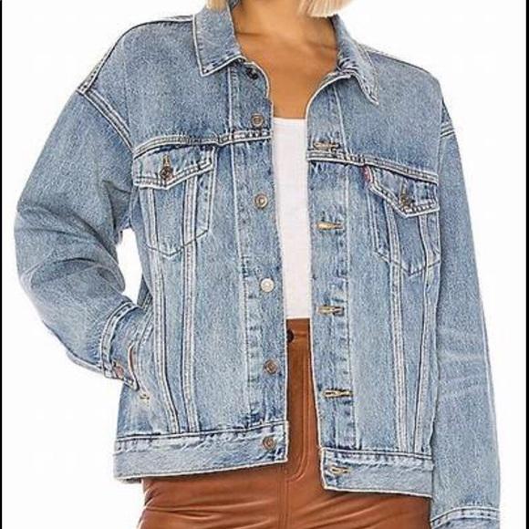 NWT Levi's dad trucker jacket
